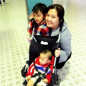 with Nichi and Nio