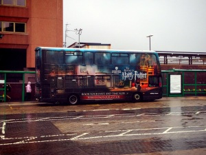 Harry Potter Shuttle Bus @ WB Studio London