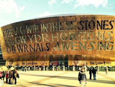 Cardiff Millenium Centre @ Cardiff Bay